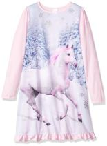 The Children's Place Girls' Long Sleeve Nightgown