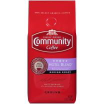 Community Coffee Ground Coffee, 5 Star Hotel Blend, 12-Ounce Bags (Pack of 3)