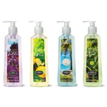 Simple Pleasures Liquid Hand Soap Pack - Set of 4 Scented Hand Soaps - Lavender Fields, Lemon Citrus, Ocean Mist, Coconut Lime - Backed by the Good Housekeeping Seal