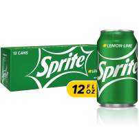 Sprite Lemon Lime Soda Soft Drinks, 12 fl oz, 12 Pack