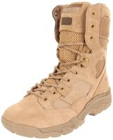 5.11 Tactical Men's Taclite 8-Inch Leather Combat Work Boots, Oil-Resistant Outsole, Style 12031