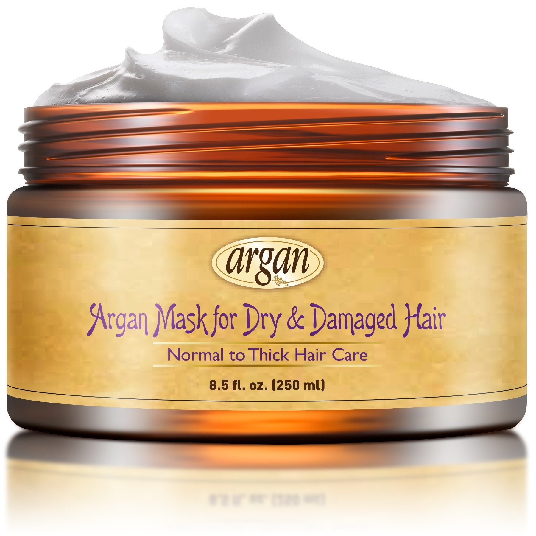 Vitamins Hair Mask Deep Conditioner - Normal to Thick Deep Conditioning Hair Treatment Repair Masque with Argan Oil for Dry Damaged Hair