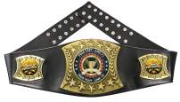 Express Medals Custom Star Performer Trophy Personalized Championship Leather Belt FCL551