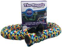 The Noggle - Making The Backseat Cool Again - Unique Air Vent Extender Provides Hot or Cold Air Direct from The Vent to Your Kids -Ideal Car Accessories for Kids While Traveling- 8ft, Kaleidoscope