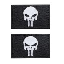 "EJG 2 Pieces 3""x2"" Tactical Patch Military Path with Velcro Morale Patch Hook & Loop (11)"