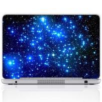 Meffort Inc 13 13.3 Inch Laptop Notebook Skin Sticker Cover Art Decal (Free Wrist pad) - Galaxy Stars