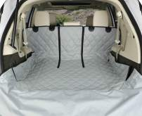 4Knines SUV Cargo Liner for Fold Down Seats - 60/40 Split and Armrest Pass-Through Compatible - USA Based Company