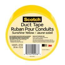3M Scotch Duct Tape, Sunshine Yellow, 1.88-Inch by 20-Yard - 920-YLW-C
