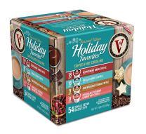 Holiday Favorites Variety Pack for K-Cup Keurig 2.0 Brewers, 54 Count Victor Allen's Coffee Single Serve Coffee Pods