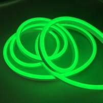 Vasten Neon Lights LED Neon Strip Lights Rope Lights Flexible for DIY Neon Signs Room Decor Light (Green)