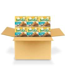 belVita Toasted Coconut Breakfast Biscuits, 6 Boxes of 5 Packs (4 Biscuits Per Pack)