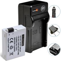 BM Premium LP-E8 Battery and Battery Charger for Canon EOS Rebel T2i, T3i, T4i, T5i, EOS 550D, EOS 600D, EOS 650D, EOS 700D DSLR Digital Camera