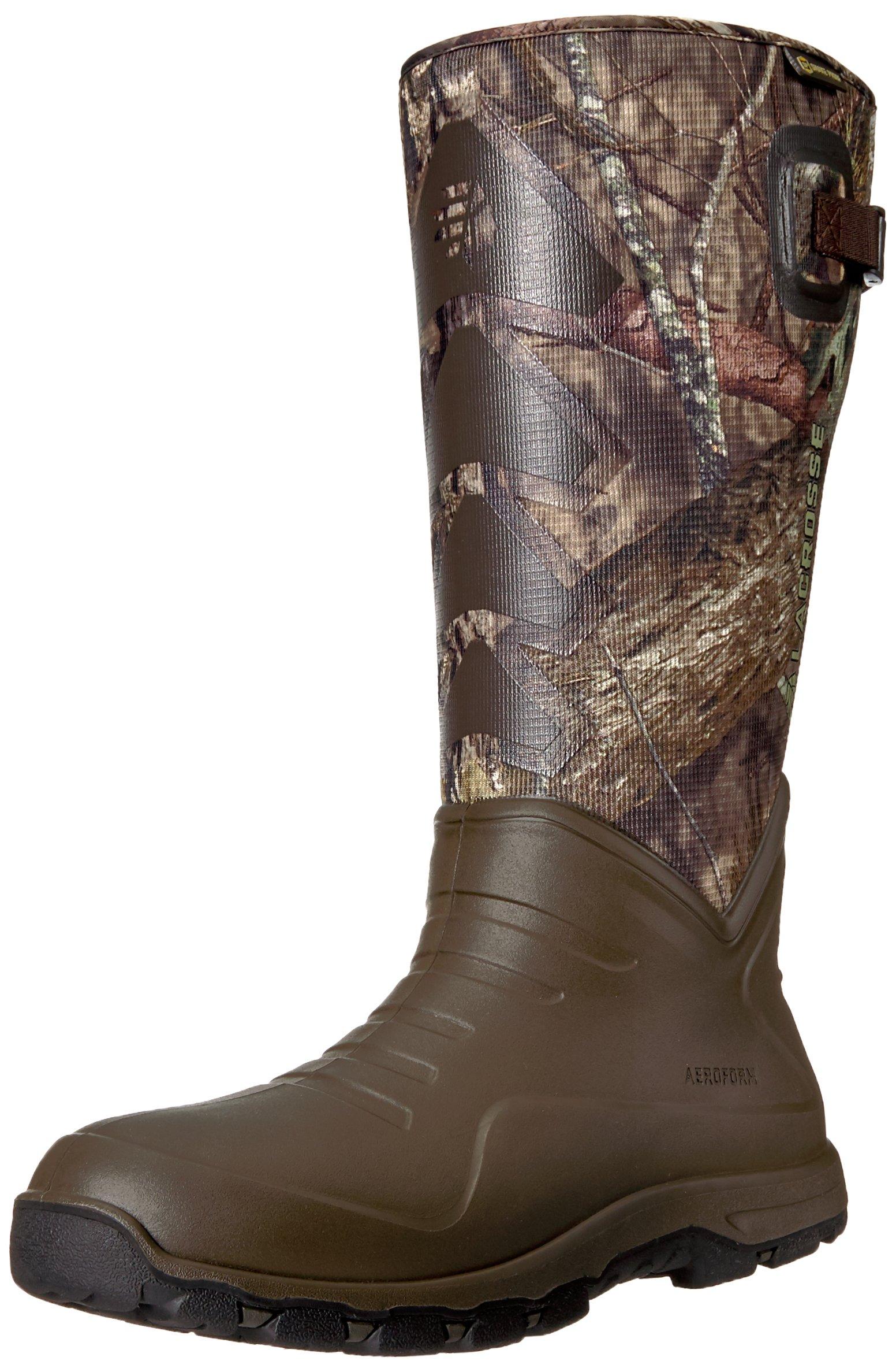 """LaCrosse Men's Aerohead Sport Snake Boot 17"""" Mossy Oak Break-Up Country Hunting Shoes"""