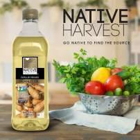 Native Harvest Expeller Pressed Non GMO Peanut Oil, 1 Litre (32FL OZ), 12 Pack