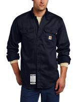 Carhartt Men's Big & Tall Flame Resistant Lightweight Twill Shirt