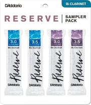 D'Addario Woodwinds D'Addario Reserve Bb Clarinet Reed Sampler Pack, 3.0/3.5 (DRS-C30)