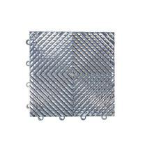"IncStores Vented Nitro Garage Tiles 12""x12"" Interlocking Garage Flooring (Graphite - 52-12""x12"" Tiles)"