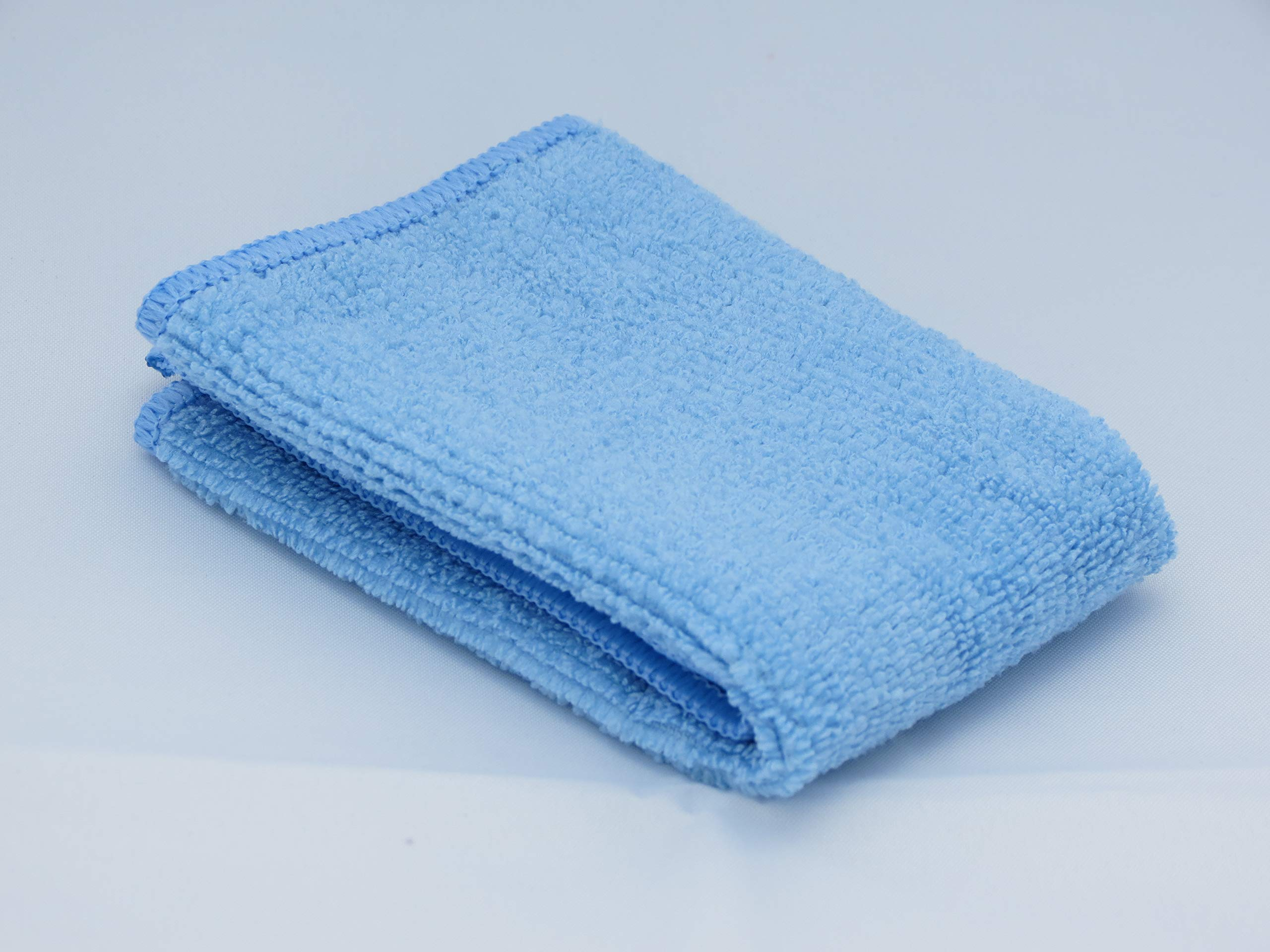 8''x 8'' Mini Super Blue Microfiber Towel use only with Flat Screen Clean Screen Cleaner Kit/Touch Screen Cleaner/Flat Screen Cleaner/Wearable Cleaner/Eyeglasses Cleaner/Extreme Demos Below