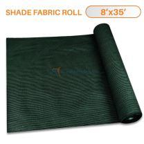 TANG Sunshades Depot 8'x35' Shade Cloth 180 GSM HDPE Dark Green Fabric Roll Up to 95% Blockage UV Resistant Mesh Net for Outdoor Backyard Garden Plant Barn Greenhouse