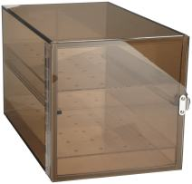 Bel-Art Bronze Acrylic Desiccator Cabinet; 0.36 cu. ft (F42065-0001)
