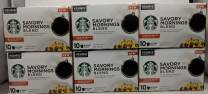 Starbucks Medium Roast K-Cup Coffee Pods — Savory Mornings Blend for Keurig Brewers — 6 boxes (60 pods total)