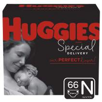 Huggies Special Delivery Hypoallergenic Baby Diapers, Size Newborn, 66 Ct