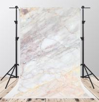 Kate 6.5x10ft Abstract Photography Backdrops White Marble Texture Background Booth