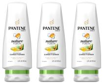 Pantene Pro-V Nature Fusion Smoothing Conditioner with Avocado Oil, 12 FL OZ (Pack of 3)