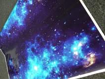 SignSomething Galaxy 03 Vinyl Wrap, Glossy, Vehicle Wrap for Car, Truck, Boat