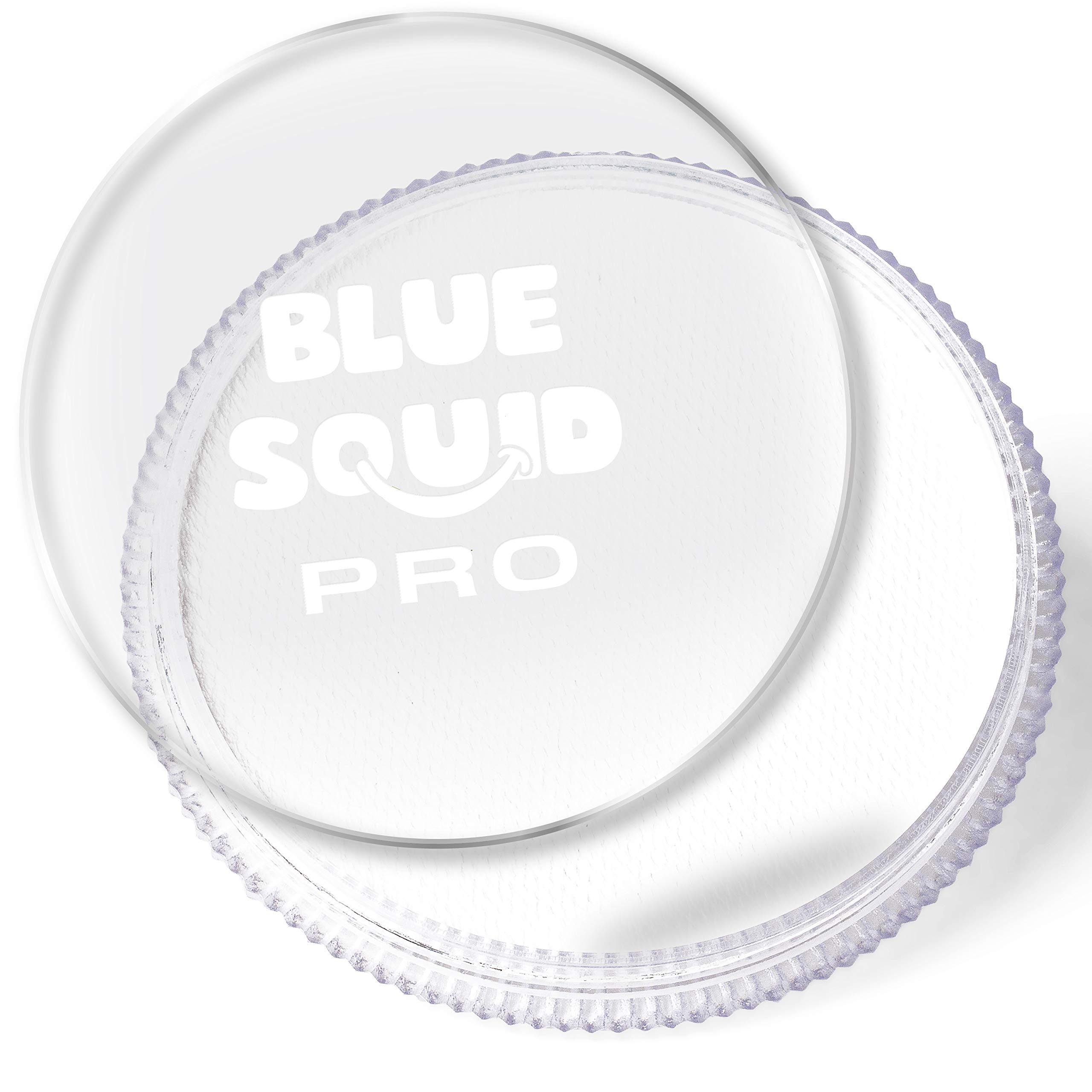 Blue Squid PRO Face Paint - Classic White (30gm), Superior Quality Professional Water Based Single Cake, Face & Body Makeup Supplies for Adults, Kids & SFX