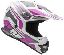 Vega Helmets VRX Advanced Off Road Motocross Dirt Bike Helmet (Pink Venom Graphic, Small)