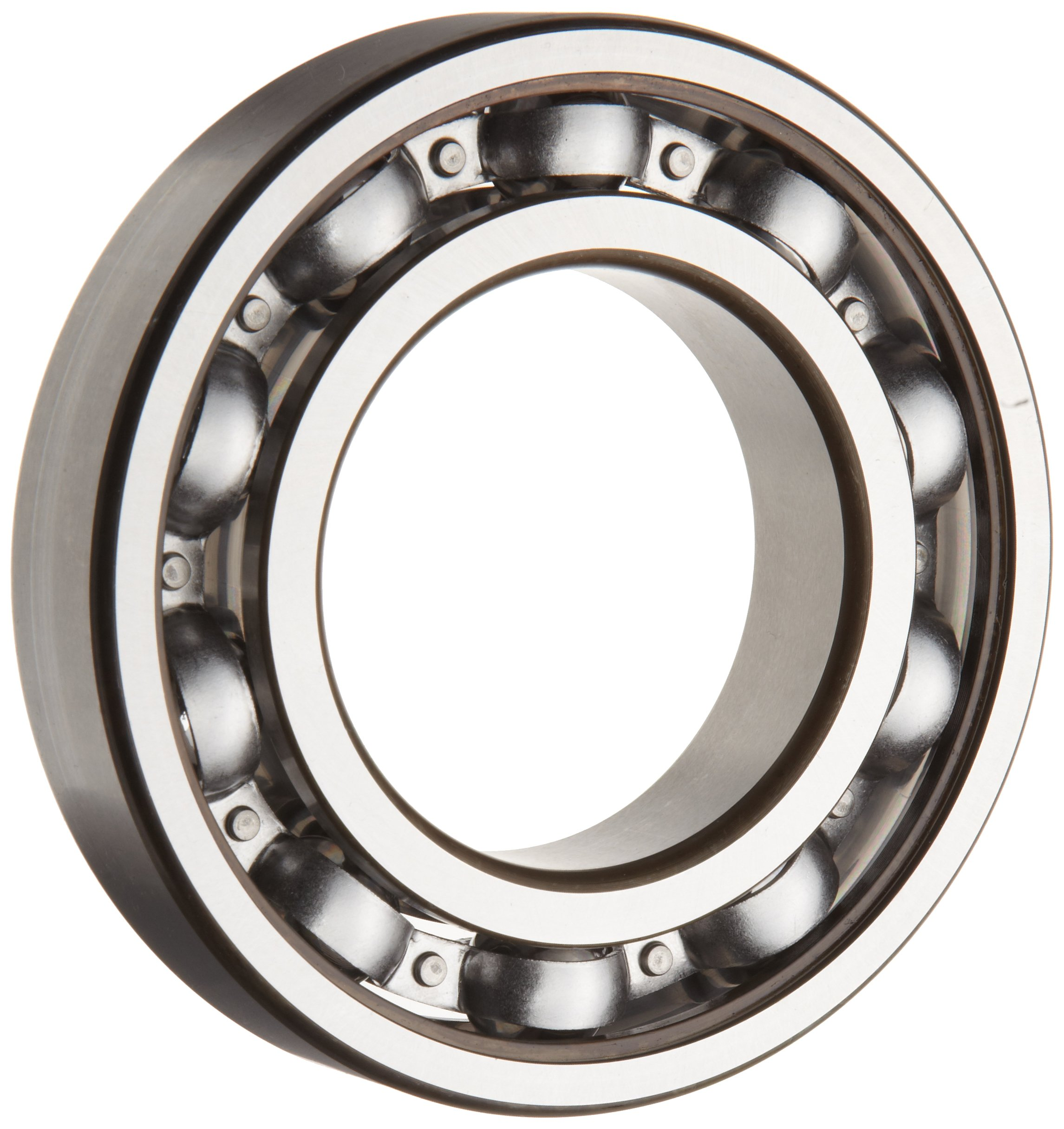 SKF 6201 JEM Light Series Deep Groove Ball Bearing, Deep Groove Design, ABEC 1 Precision, Open, Steel Cage, C3 Clearance, 12mm Bore, 32mm OD, 10mm Width, 697.0 pounds Static Load Capacity, 1550.00 pounds Dynamic Load Capacity