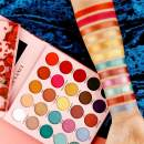 DE'LANCI Natural To Bold Eyeshadow Palette 25 Color Eye Shadows Professional High Pigmented Makeup Pallete Pop Eye Shadow Little Prince&Rose