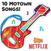 Motown Magic Toy Guitar with 10 Famous Songs - Musical Instrument Gift for Toddlers, Boys, & Girls Ages 1 2 3 4 5