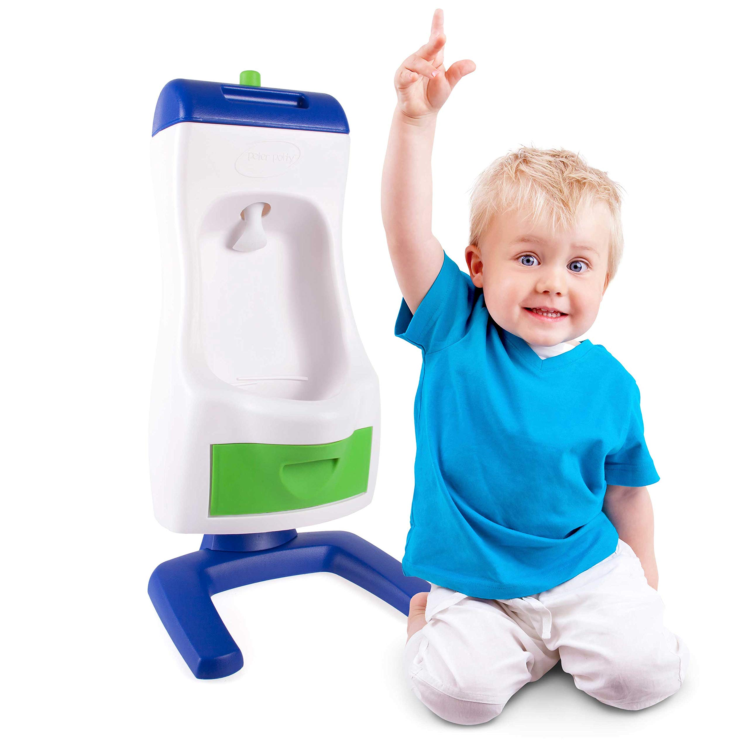 Peter Potty Flushable Toddler Urinal The Easiest Way To Potty Train by Grow'n Up