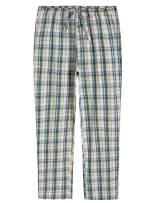 Latuza Women's Plaid Pajamas Pants Cotton Sleep Bottoms with Pockets