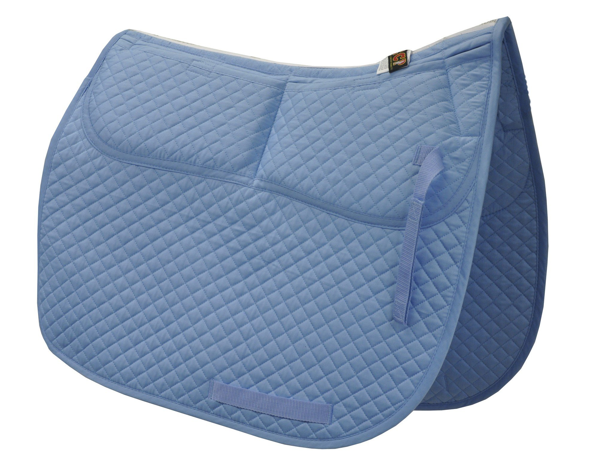 ECP Cotton Correction Dressage Saddle Pad - Memory Foam Pockets