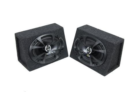 """Bbox 6x9PR 6"""" x 9"""" Sealed Speaker Enclosure Pair"""