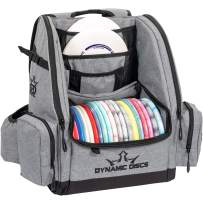 Dynamic Discs Commander Backpack | Graphite Gray | Disc Golf Bag | 20 Disc Capacity | Two Deep Storage Pockets | Two Accessory Pockets | Two Water Bottle Holders | Frisbee Disc Golf Backpack Bag