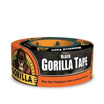 "Gorilla 6001203 6001203-10 Duct Tape, 1.88"" x 12 yd, Black, (Pack of 1), 1-Pack"