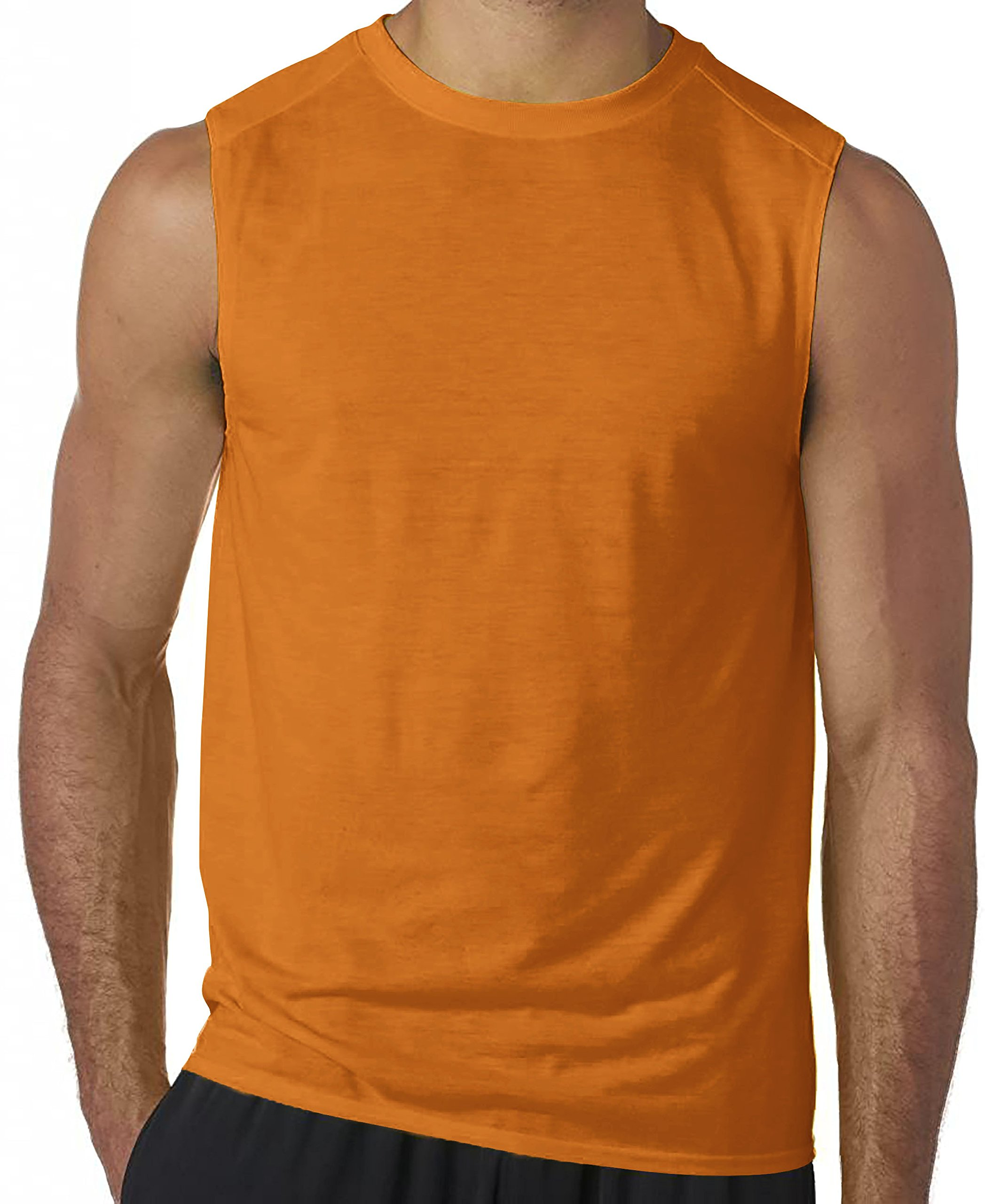 Hat and Beyond Mens Active Muscle Tank Top Athletic Gym Workout Shirts