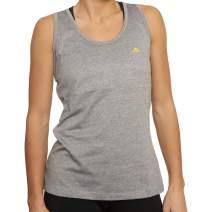 DANISH ENDURANCE Women's Fitness Tank Top, Sleeveless Racerback Loose Top for Workout, Gym, Running, Yoga, Fitness