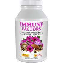 Andrew Lessman Immune Factors 30 Capsules – Echinacea, Goldenseal, Vitamin C, Astragalus, Supports and Promotes Immune System and Natural Defenses, No Additives. Small Easy to Swallow Capsules