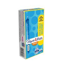 Paper Mate InkJoy 300RT Retractable Ballpoint Pens, Fine Point, Blue, Box of 12 (1951359)