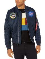 Alpha Industries Men's L-2b NASA Bomber Flight Jacket