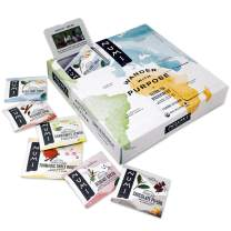 Numi Organic Tea Wander with Purpose Gift Set, 6 Flavor Variety, 30 Tea Bags Total