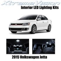 Xtremevision Interior LED for Volkswagen Jetta 2015+ (9 Pieces) Pure White Interior LED Kit + Installation Tool