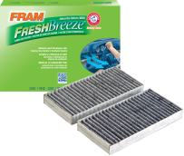 FRAM CF10747 Fresh Breeze Cabin Air Filter with Arm & Hammer