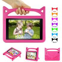 DiHines All-New Fire 7 Tablet Case 2019,Kids Shock Proof Stand Kid-Proof Case for Amazon Kindle Fire 7 Tablet (Compatible with 2019&2017&2015 Release)