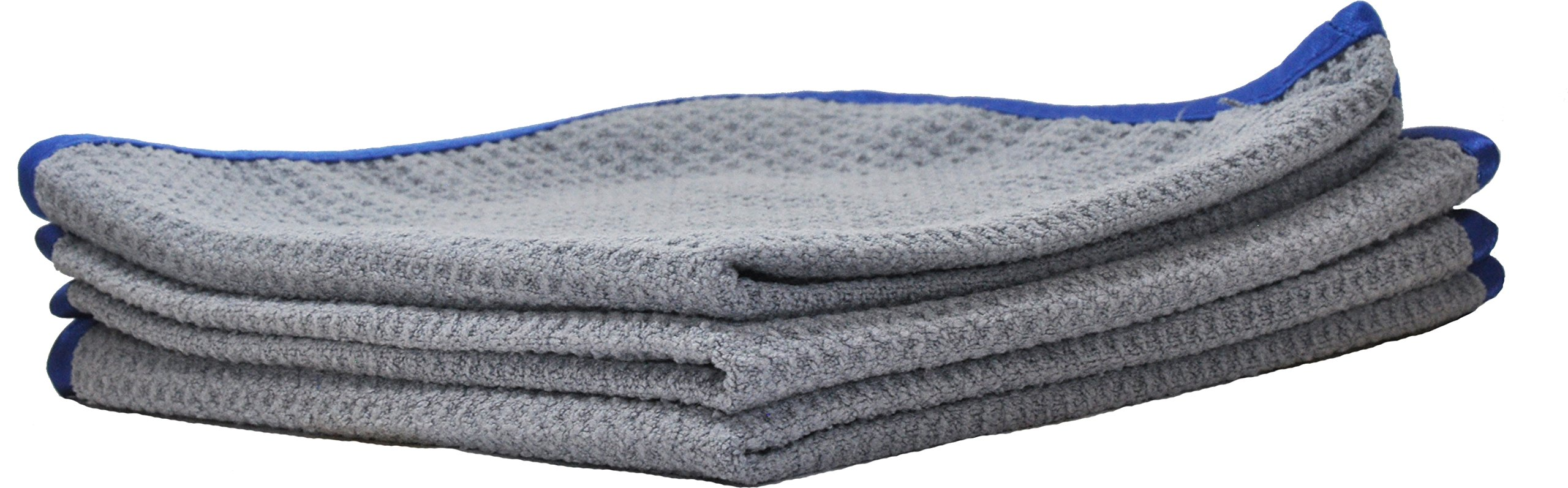 """400GSM Premium Waffle Dusting/Cleaning Microfiber Cloth by Clean Flawless 